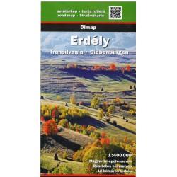DIMAP Erdély/Transylvánie 1:400 000 automapa