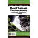 DIMAP Muntii Vladeasa 1:50 000 turistická mapa