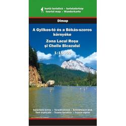 DIMAP Lacul Rosu/Červené jezero a okolí 1:15 000