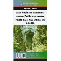 DIMAP Pádis 1:30 000 turistická mapa