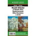 DIMAP Muntii Gilaului, Muntele Mare 1:50 000 turistická mapa