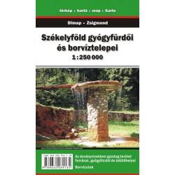 DIMAP Székelyföld/Sikulsko 1:250 000 automapa