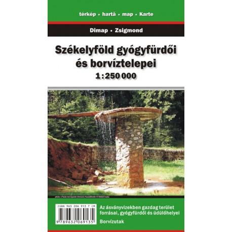 Dimap Székelyföld 1:250 000 automapa
