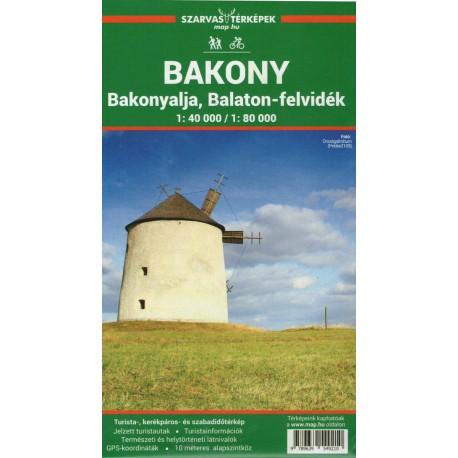 Dimap Bakony, Balaton 1:80 000