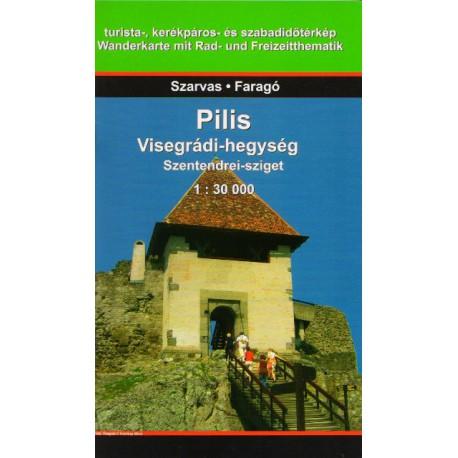 Dimap Pilis, Visegrádi-hegység, Szentendrei-sziget 1:30 000