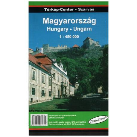 Dimap Maďarsko 1:450 000 automapa
