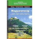 DIMAP Maďarsko 1:250 000 autoatlas, plány měst 1:16 000-1:64 000