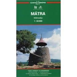 DIMAP Mátra 1:30 000 turistická mapa