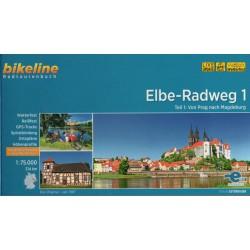 Bikeline Labská cyklostezka (Elbe-Radweg) 1:75 000 cykloprůvodce