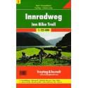 Freytag a Berndt 2 Inn-Radweg/Innská cyklostezka 1:125 000 cykloturistická mapa