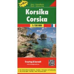 Freytag & Berndt Korsika 1:150 000 automapa