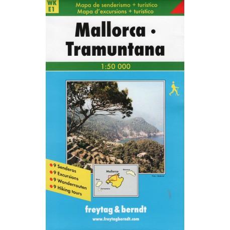 Freytag & Berndt Mallorca, Tramuntana 1:50 000
