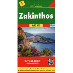 Freytag & Berndt Zakynthos 1:50 000 automapa