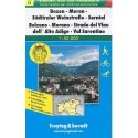 Freytag a Berndt WK S1 Bolzano, Merano, Val Sarentino 1:50 000 turistická mapa