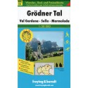 Freytag a Berndt WK S5 Grödner Tal, Val Gardena, Sella, Marmolada 1:50 000 turistická mapa
