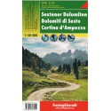 Freytag a Berndt WK S10 Sextenské Dolomity, Cortina d´Ampezzo 1:50 000 turistická mapa
