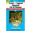 Freytag a Berndt WK S14 Trento, Lagorai, Fleimstal, Val di Fiemme 1:50 000 turistická mapa