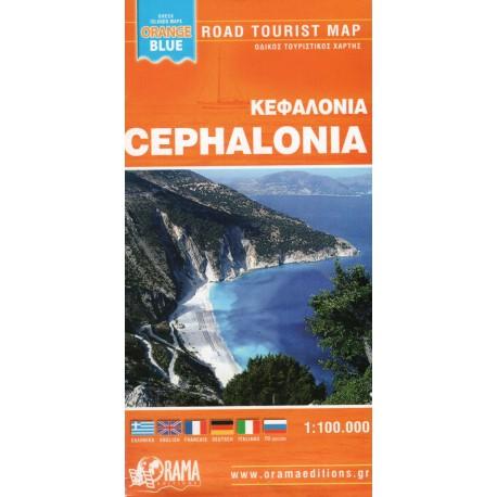 Cephalonia/Kefalonie 1:100 000