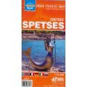 ORAMA Spetses 1:25 000 turistická mapa