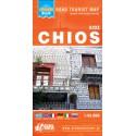 ORAMA Chios 1:95 000 turistická mapa