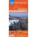 ORAMA Folegandros 1:25 000 turistická mapa