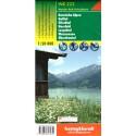 Freytag a Berndt WK 223 Karnské Alpy 1:50 000 turistická mapa