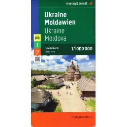 Freytag & Berndt Ukrajina, Moldávie 1:1 000 000 automapa