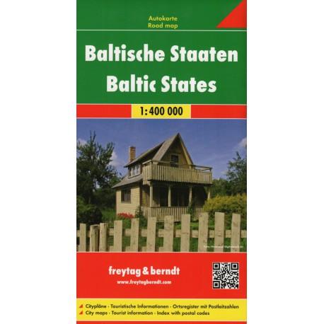 Freytag & Berndt Pobaltské státy 1:400 000