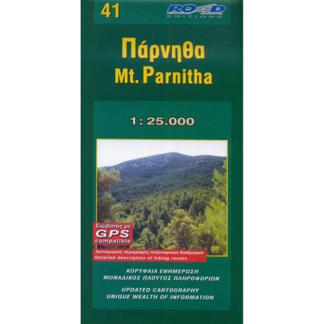 41 Mt. Parnitha 1:25 000