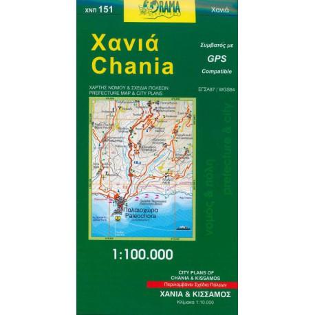 151 Chania 1:100 000
