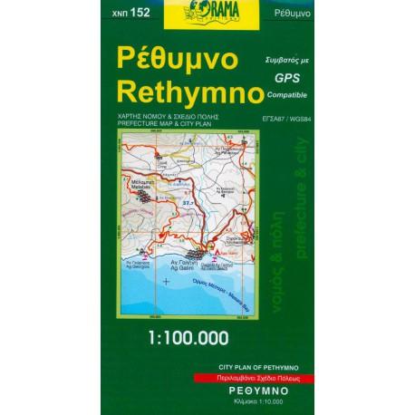 152 Rethymno 1:100 000