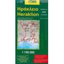 ORAMA 153 Řecko Heraklion 1:100 000 automapa