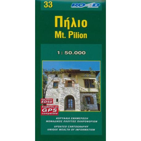 33 Mt. Pilion 1:50 000