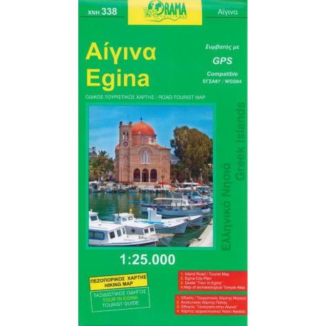 338 Egina 1:25 000