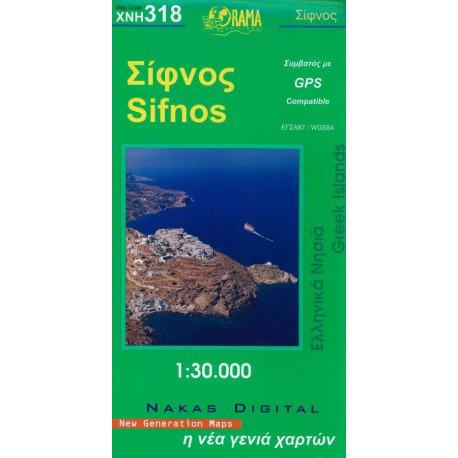 318 Sifnos 1:30 000
