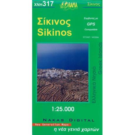 317 Sikinos 1:25 000
