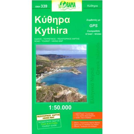 339 Kythira 1:50 000
