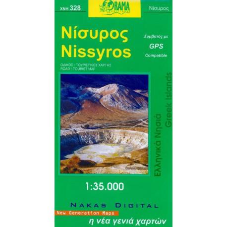 328 Nissyros 1:35 000