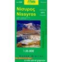 ORAMA 328 Nissyros 1:35 000 turistická mapa