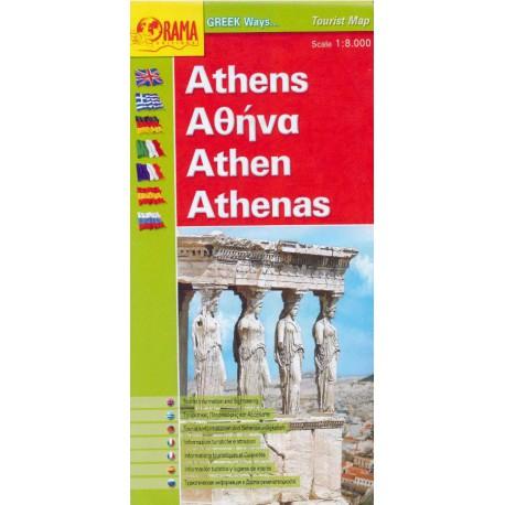 Athens/Athény 1:8 000