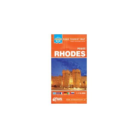 Rhodes/Rhodos 1:85 000