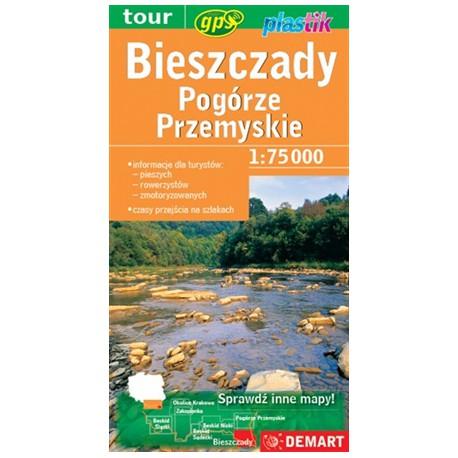 DEMART Bieszczady, Pogórze Przemyskie 1:75 000
