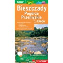 DEMART Bieszczady, Pogórze Przemyskie 1:75 000 turistická mapa