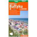 DEMART Pobrzeże Bałtyku/Pobřeží Baltu 1:200 000 automapa