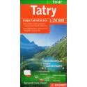 DEMART Tatry 1:20 000 turistická mapa