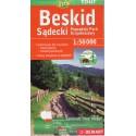 DEMART Beskid Sądecki/Sadecké Beskydy 1:50 000 turistická mapa