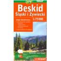 DEMART Beskid Śląski i Żywiecki/Slezské a Kysucké Beskydy 1:75 000 turistická mapa
