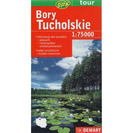 DEMART Bory Tucholskie 1:75 000