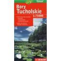 DEMART Bory Tucholskie/Tucholské bory 1:75 000 turistická mapa