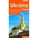 DEMART Ukraina/Ukrajina 1:1 000 000 automapa